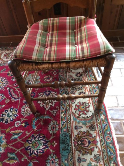 Judy's ladder back chairs