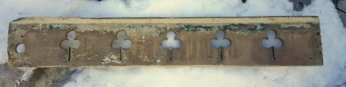 image of my TREFOIL salvage piece
