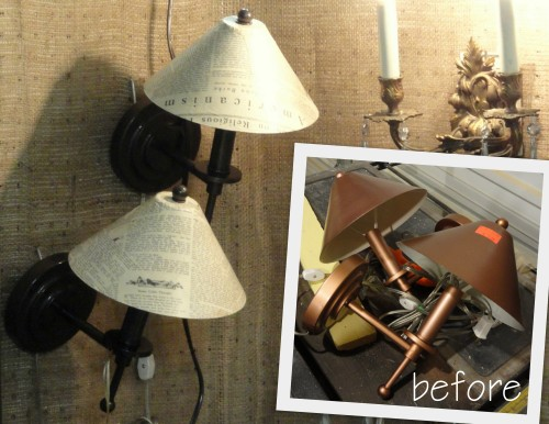 ReStore sconce FACE LIFT