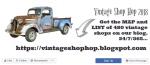 the vintage SHOP HOP -2018