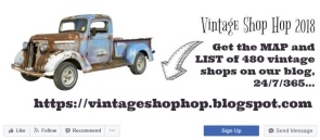 the vintage SHOP HOP -2018