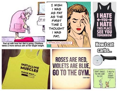 Gym Humour- how I keep going!