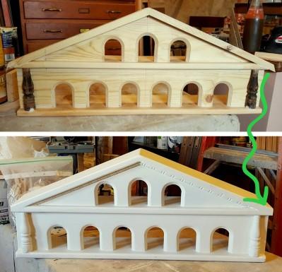 details of a birdhouse~