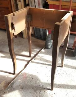 a curbie sewing machine cabinet