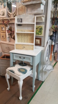 "the ""NEW"" sewing machine side table!"