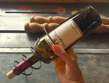 creating my 'WINE RACK""