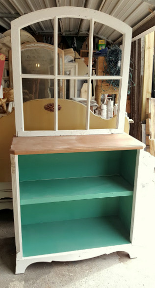 building a HUTCH from a window!