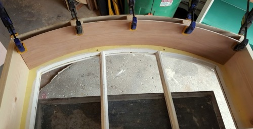 creating the arched top~