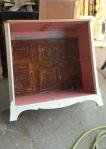 Adding the antique ceiling tin~