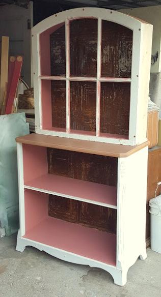 the Window Hutch Bookcase!