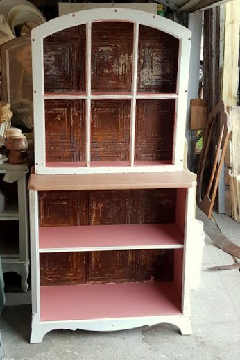 the Window Hutch Bookcase!