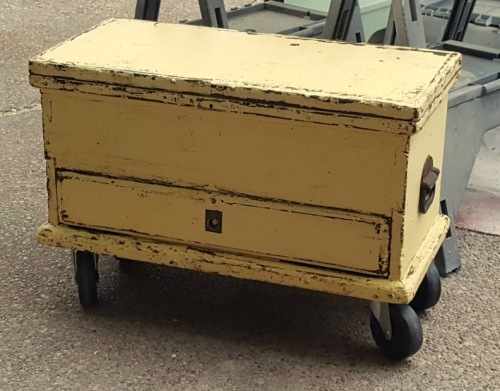 a NEW look for an OLD trunk!