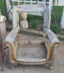 REcreating an Adirondack chair from this carcass!