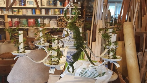 my Garden-styled chandelier!
