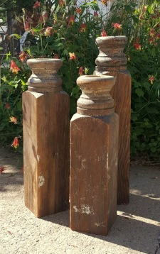 my Garden Candlesticks!