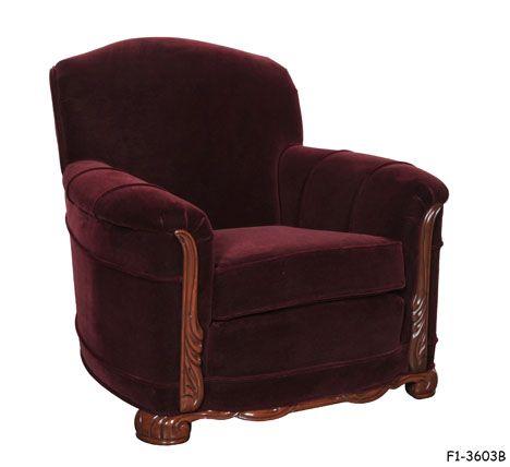 a 1930's - 1940's club chair