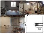 the basement layout-