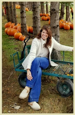 At the Pumpkin Patch!