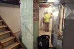 an open stairwell--