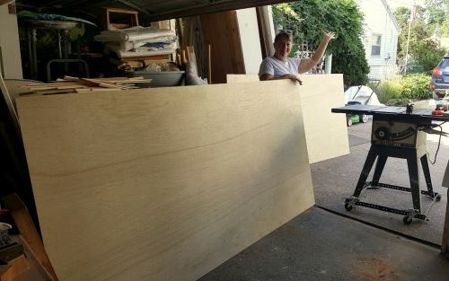 creating our own SHIPLAP-