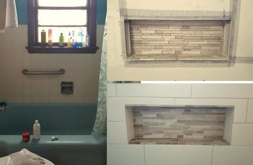 REaddressing the shower niche-