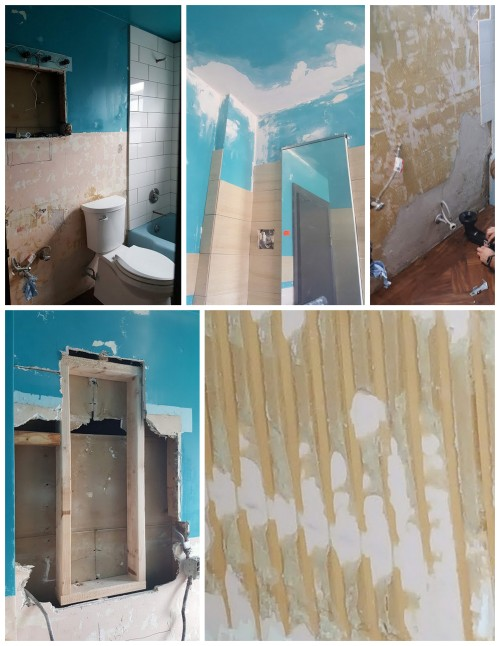 the problems and issues with the walls-