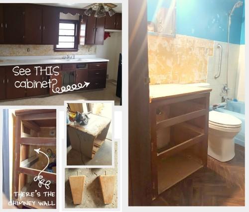 BRANDON's -vanity and drawers