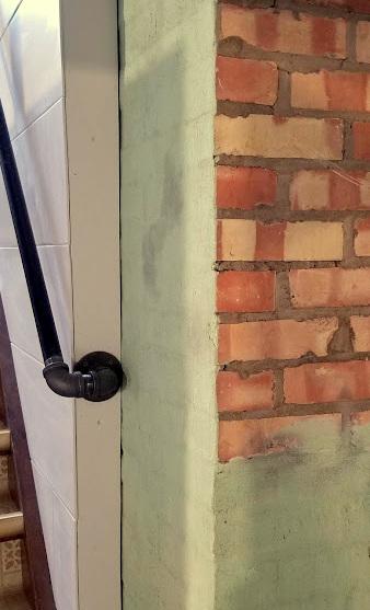 the Galvanized Pipe handrails