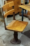 the old school desk chair