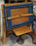 a vintage folding table