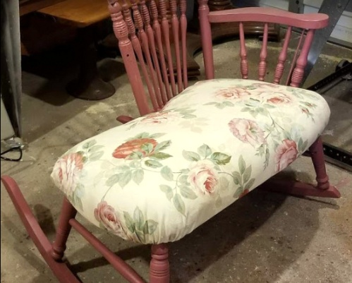 the new padded seat-