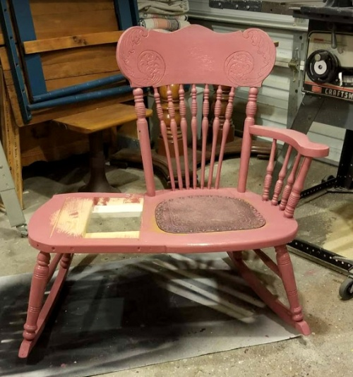 a new life is coming together for this rocker!