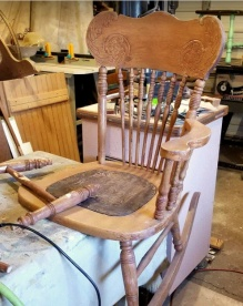 a new life for a broken rocker