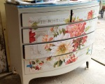 working on the last drawer-